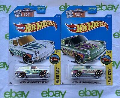 Hot Wheels Favorites Volkswagen VW Squareback Type 3 T3 1600 1500 Wolfsburg Oem