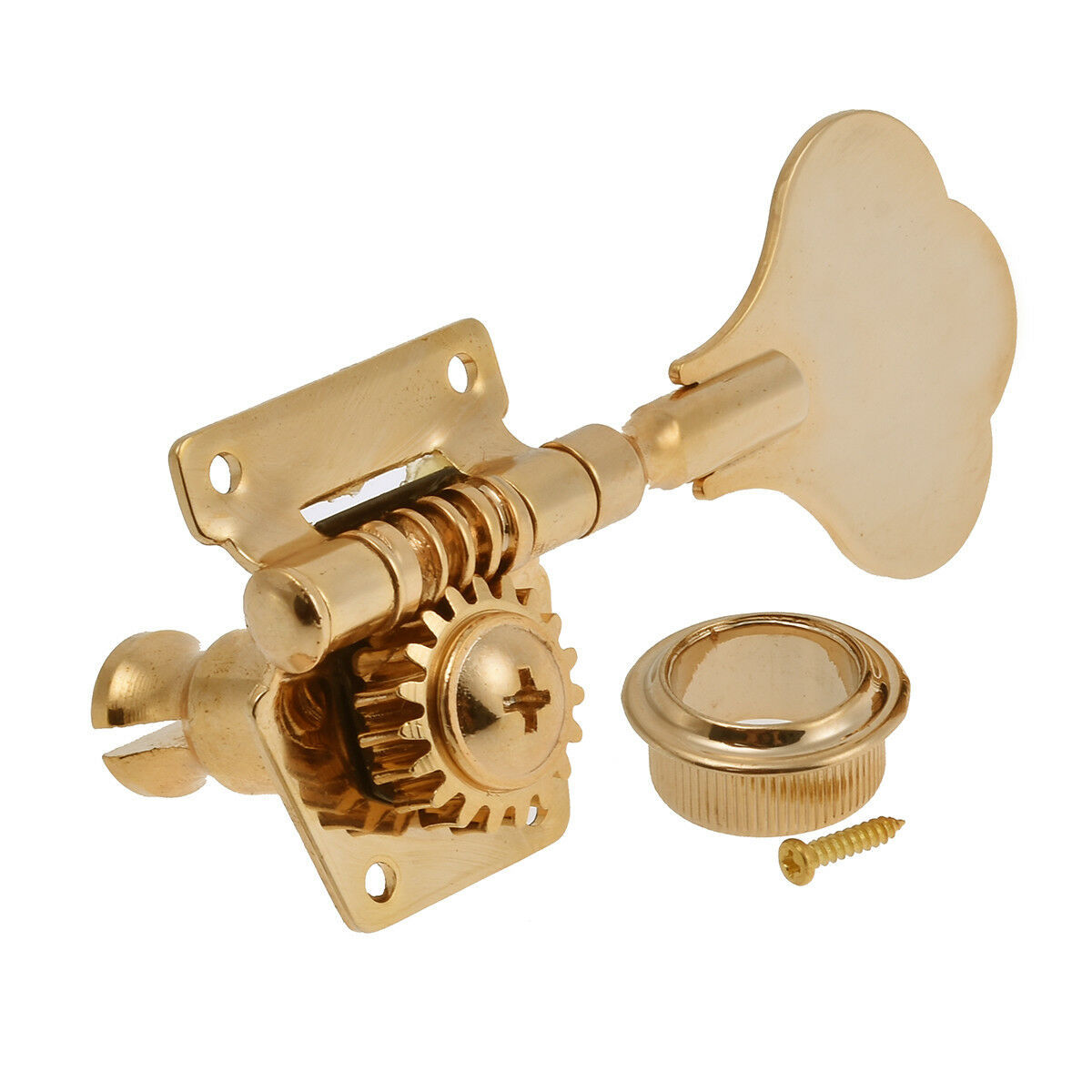 4 string bass guitar tuning pegs tuners keys machine heads open back 4r gold 634458694391 ebay. Black Bedroom Furniture Sets. Home Design Ideas