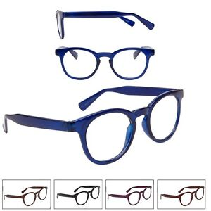 Glasses And Frame Shape : NEW Unisex Round Frame Shape Fashion Readers Reading ...