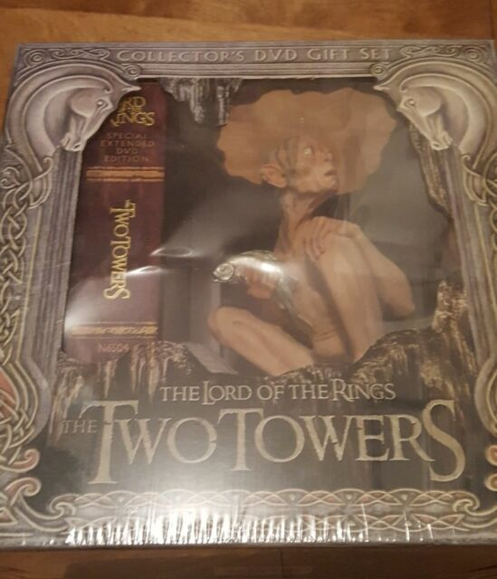 The Lord of the Rings: The Two Towers (DVD, 2003, 5-Disc Set, Collectors Box Wi…