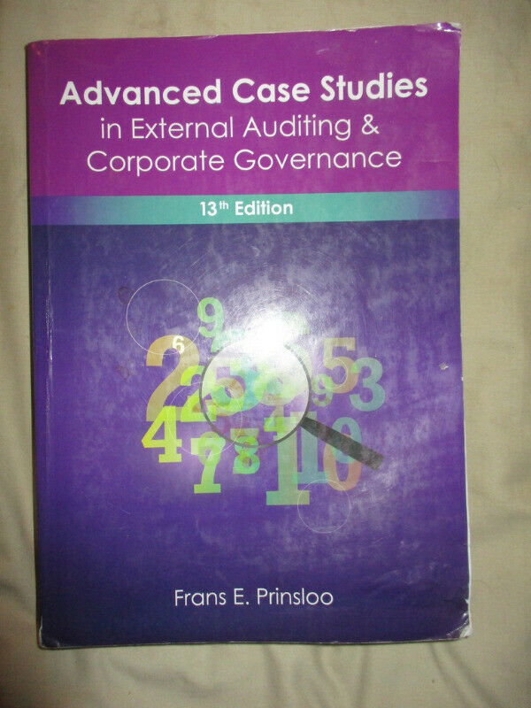 Advanced case studies in external auditing