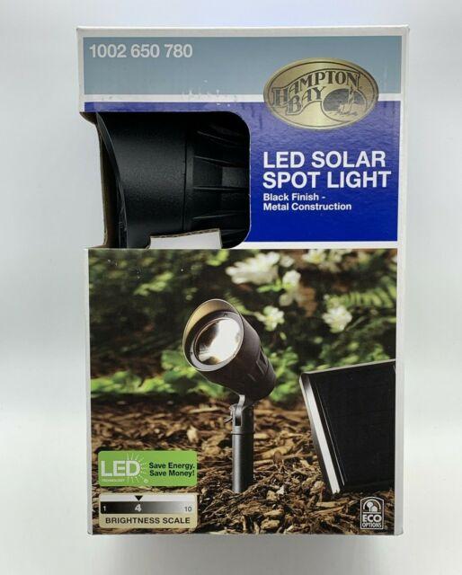 Spot Light Solar Panel Outdoor Integrated Led 3000k 40 Lumens Warm White Metal For Sale Online Ebay