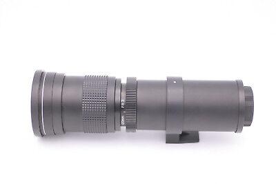 420 8 Zoom HD Opteka 3 Telephoto Lenti Super per 800mm F SLR Tutti Fotocamere d8SSxpWqt