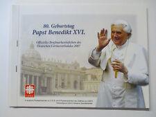 Caritas marchi LIBRETTO PAPA BENEDETTO con Vaticano nominale (senza BRD) (13621)