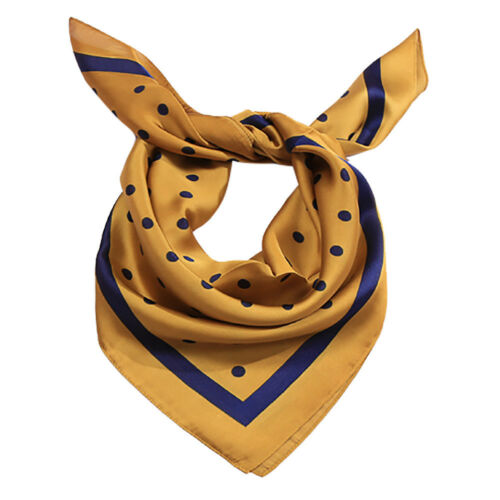 Fashion Women Square Soft Wrap Scarf Retro Chiffon Polka Dot Shawl Scarves Gifts