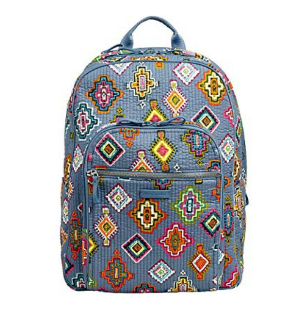 4d1b47cf93 Vera Bradley Iconic Deluxe Campus Backpack in Painted Medallions for sale  online