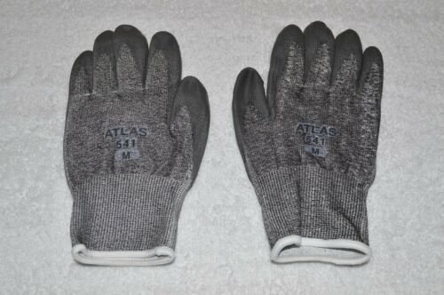 METAL DETECTOR ACCESSORIES ~ CUT RESISTANT GLOVES ~ SIZE ~ MEDIUM ~ GRAY ~ NEW
