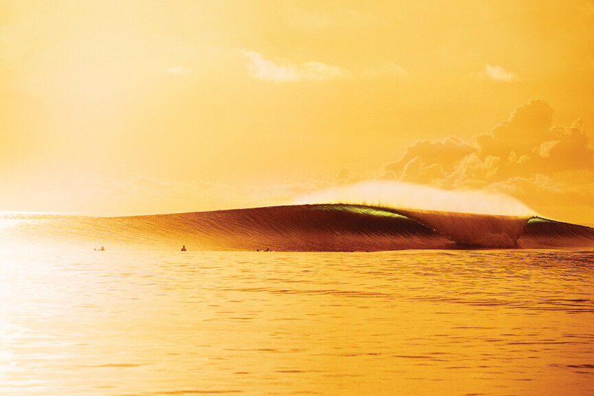 golden Indo Wave 12x18  Photo Print by Pete Frieden