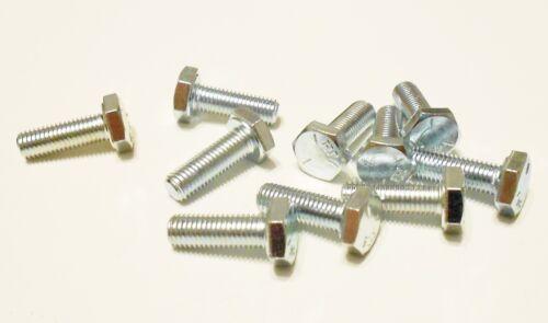 """Screws Classic Mini Bolts Qty 10 5//16/"""" UNF Zinc Plated Bolts"""