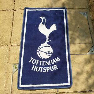 Tottenham Hotspur FC Football Team Rug Floor Mat 66cm x 17cm Club Decor