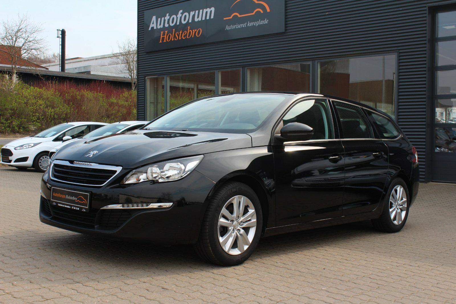 Peugeot 308 1,6 BlueHDi 120 Active SW EAT6 5d - 199.800 kr.