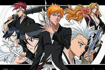 Collage Bleach Maxi Poster 91.5cm x 61cm new and sealed