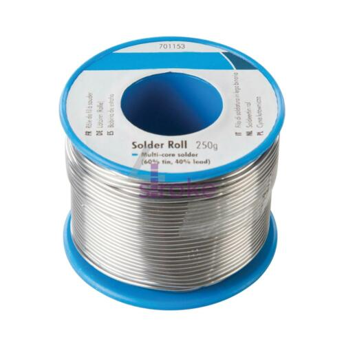 100g 250g SOLDERING WIRE KIT Electrician//Plumbing//Hobby//Circuit Board 20g