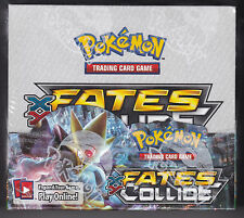 Pokemon XY Fates Collide sealed unopened booster box 36 packs of 10 cards