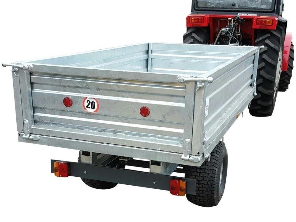 Andet, DK-TEC Galvaniseret trailer 1,5 ton