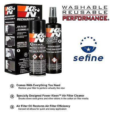 K/&N RECHARGER 99-5000 FILTER CARE SERVICE KIT BOX OF 2