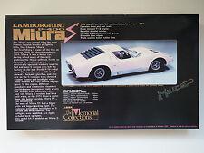 UNION 1:20 Lamborghini Miura The Memorial Collections Nr.MC53 1500 Modellbausatz
