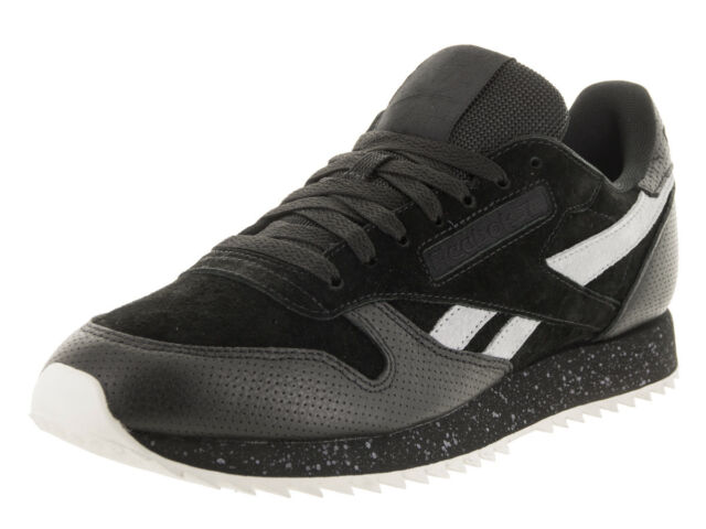 b8676a40189 Buy Reebok Classic Ripple SM Casual Shoes - Men s Size 9.5 Black ...