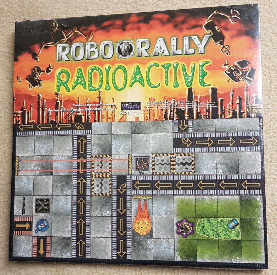Robo Rally Erweiterung Radioactive WotC