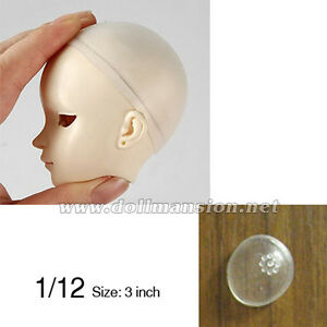 """1 pcs  6-7"""" Silicon Wig Cap for MSD 1//6 Bjd Doll Head Protection Cover"""