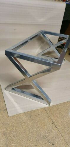 Coffee Table Frame X Design Box Section Steel Simply Stunning Craftsmanship
