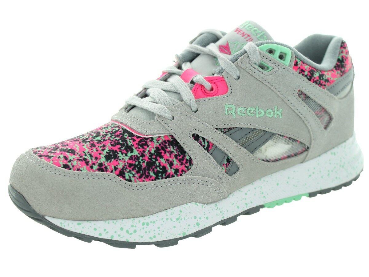 REEBOK M46479 VENTILATOR CG Wmn's (M) Grau/Pink Suede/Synthetic Athletic Schuhes