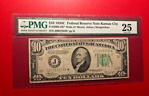 1934-C-Eidgenoessisches-Reserve-Kansas-City-PMG-25-Sehr-Fein