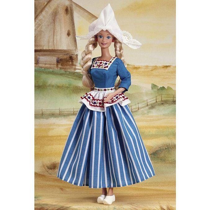 BARBIE DA COLLEZIONE Barbie® DOLL OLANDESE MATTEL NUOVA 11104