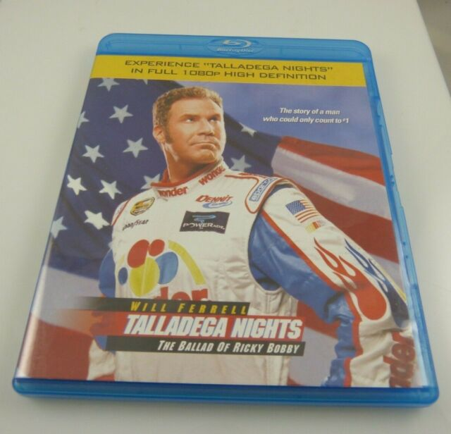 Talladega Nights: The Ballad of Ricky Bobby (Blu-ray Disc, 2006) PS3 compatible