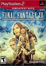 PLAYSTATION 2 PS2 RPG GAME FINAL FANTASY XII 12 NEW