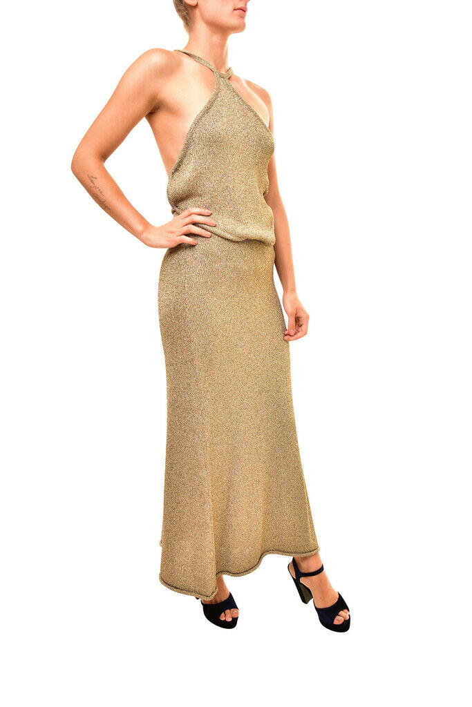 One Teaspoon Teaspoon Teaspoon Womens Grand Sorano 17708 Dress Maxi Relaxed Tan gold Size S eac3e0