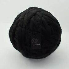 1kg Black Mammoth Giant Chunky Extreme Arm Knitting Yarn Super Woolly Mahoosive