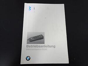 BMW-3er-5er-7er-8er-Betriebsanleitung-Handbuch-Telefon-Autotelefon-SA623-SA629