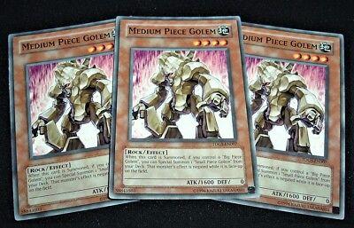 New Medium Piece Golem TDGS-EN007 Common Yu-Gi-Oh Card U