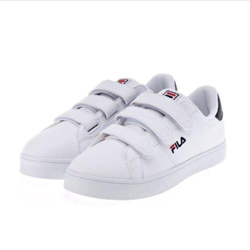 Nuevas Tenis Fila Tribunal De Lujo VC Velcro Velcro Velcro Zapatos-blancoo Azul Marino (FS1SIA1012X)  últimos estilos