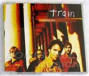 TRAIN - SOMETHING MORE - CD Single Nuovo Unplayed - Italia - TRAIN - SOMETHING MORE - CD Single Nuovo Unplayed - Italia