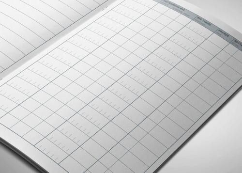 60 Seiten für Finanzamt geeignet Type 7 Premium-Fahrtenbuch DIN A5 3er Pack