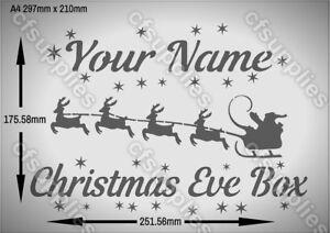 SNOWFLAKES CHRISTMAS MYLAR STENCIL 125//190 micron A3//A4//A5