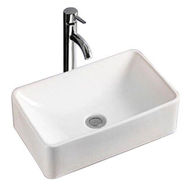 Osculati PORCELANA wasch-becken Plaza, aufsetzbar 35 , 5x30x13cm, bote Aseo