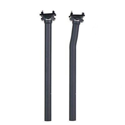 Ultralight UD Carbon Fiber Seatpost Offset MTB Road Bike Seat Tube 27.2//31.6mm