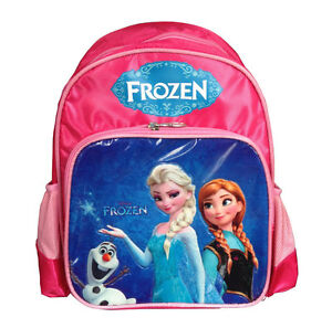 Disney-Frozen-Backpack-Anna-Elsa-Girls-Small-School-Bag-Rucksack-Children-Kids