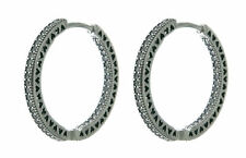 Pandora Women Silver Hoop Earrings - 296319CZ 0NQRxIrq
