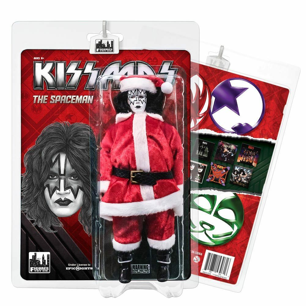 KISS 8 Inch Limited Edition Action Figure Christmas Christmas Christmas Series  The Spaceman eb5fd0