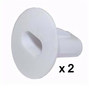 Plastic Hole Tidy Wall Grommet Sky Twin Double Coax Aerial