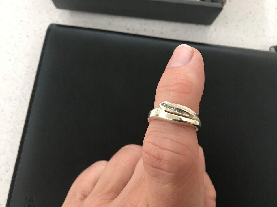 Fingerring, sølv
