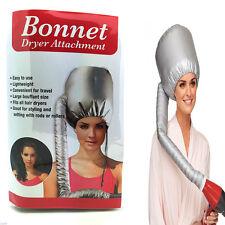 Hair Dryer Bonnet Portable Soft Hood Attachment Home & Salon Haircare UK