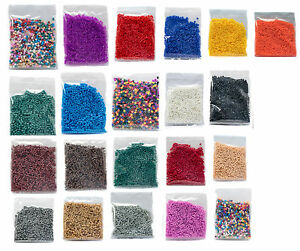 New-Colour-Fuse-Beads-1000-beads-per-pack-5mm-Midi-Craft-2-10-C