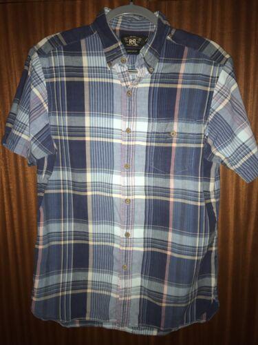 RRL Shirt Sleeve Woven Madras Shirt