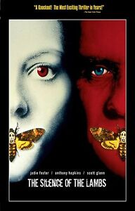 THE SILENCE OF THE LAMBS Movie Poster RARE Hannibal Lecter ...