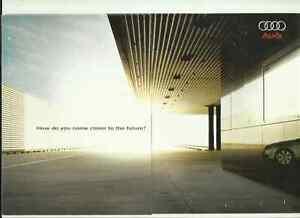 """""""nouveau"""" Audi A6 Introduction Brochure 2004-afficher Le Titre D'origine êTre Reconnu à La Fois Chez Soi Et à L'éTranger Pour Sa Finition Exceptionnelle, Son Tricot Habile Et Son Design éLéGant"""